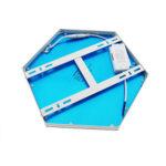 Plafon-LED-Bee-Hexagonal-10W-1