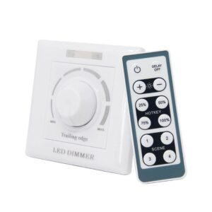 Regulador TRIAC 200W Dimmer AC 220V con mando IR
