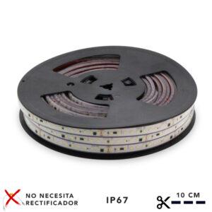 Tira de LED 220VAC SMD2835 120LED/m Ruzok 17W/m (20 metros)