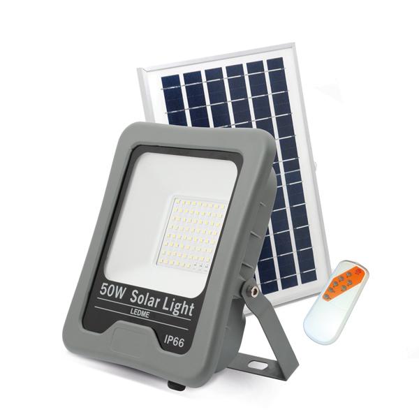 Foco Proyector LED Solar 50W IP66 4500lm 6000k
