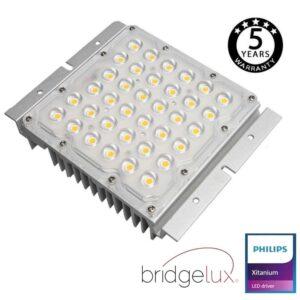 Módulo Optico LED 10W-65W Philips Driver Programable BRIDGELUX Chip SMD5050 8D para Farola