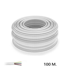 Cable para Tira LED RGB 4 Hilos 100Metros
