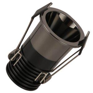 Empotrable LED 5W Negro Cromo  Bridgelux Chip  -  40° - UGR11