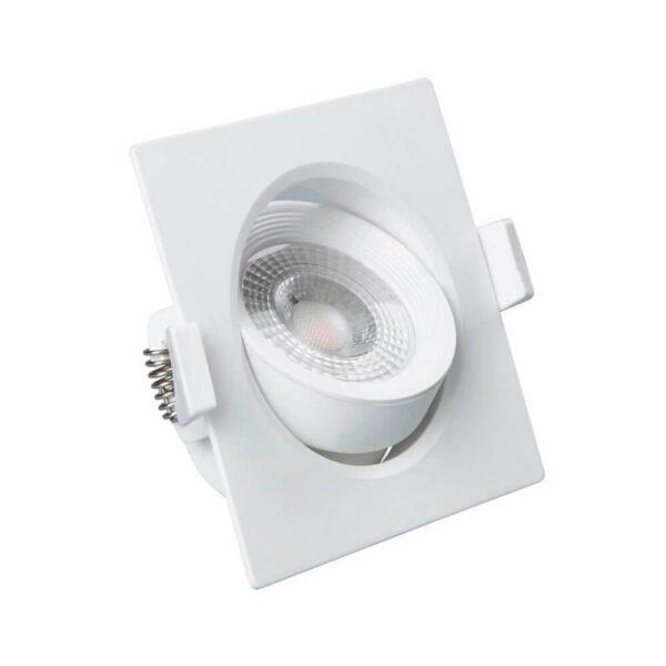 Empotrable LED 7W Cuadrado 45°