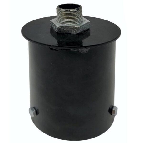 Soporte de acoplamiento para columna farola LED - 90mm