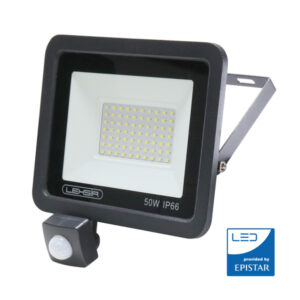 Foco LED 50w con sensor de movimiento IP65