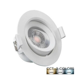 Empotrable LED 7W Circular 45°