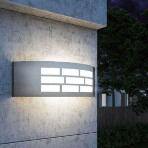 Aplique LED E27 GOTEMBURGO INOX Exterior