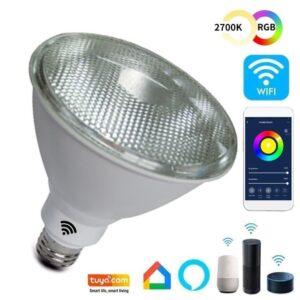 Lámpara PAR LED 12W SMART Wifi RGB+CCT - Regulable - E27
