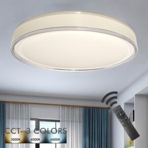 Plafón LED 36W TAMPERE - Dimable - CCT + Mando Control