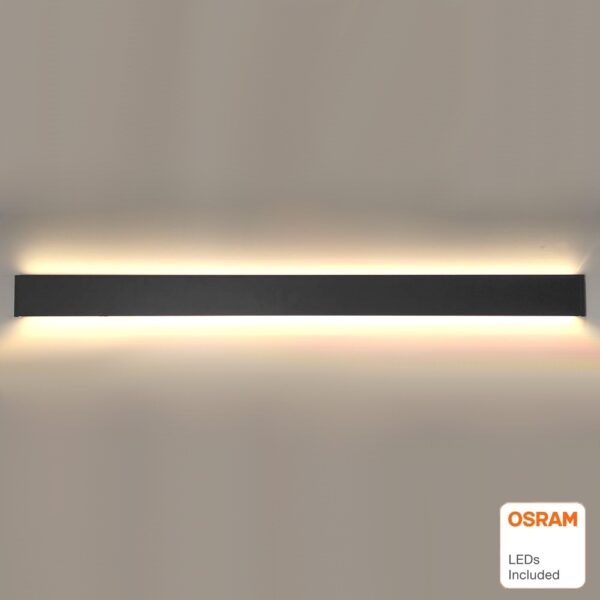 Aplique Lineal Doble Luz NYON Led 36W OSRAM Chip - UGR16
