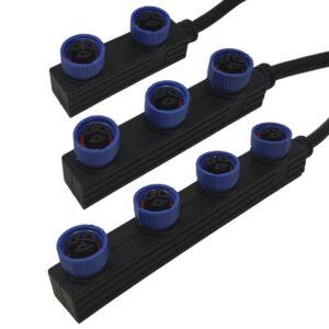 Cable Conector Estanco M15 de 30Cm - 3*0.75 pou Magnum DOB