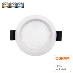 Downlight LED 10W Circular - OSRAM CHIP DURIS E 2835 - CCT - UGR17