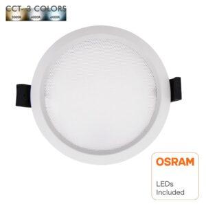 Downlight LED 15W Circular - OSRAM CHIP DURIS E 2835 - CCT - UGR17