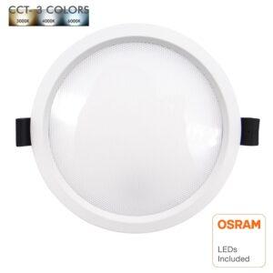 Downlight LED 20W - OSRAM CHIP DURIS E 2835 - CCT - UGR17