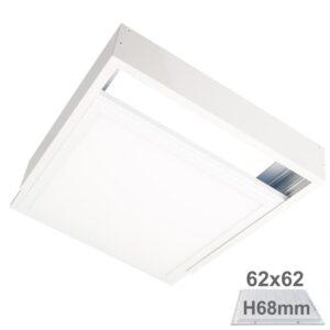 Kit de Superficie para Panel de 62x62 - Altura 68mm