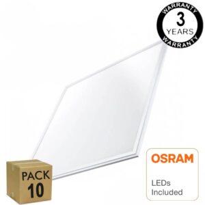 PACK 10 Panel LED 60x60 48W - OSRAM CHIP DURIS E 2835