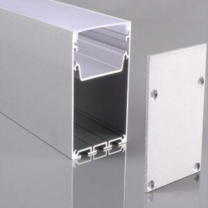 Perfil de Aluminio INFINITY PRO - 2 Metros