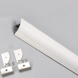 Perfil de Aluminio Modelo CORNISA- 2 Metros