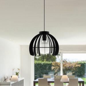 lampara de techo jaula